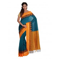 Platinum Traditional Handloom Cotton SareePSR1103D