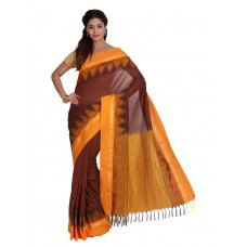 Platinum Traditional Handloom Cotton SareePSR1217