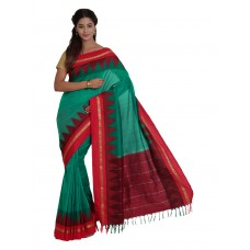 Platinum Traditional Handloom Cotton SareePSR1285D