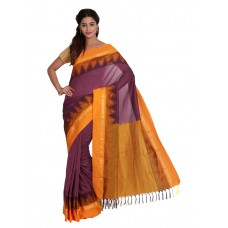 Platinum Traditional Handloom Cotton SareePSR1304