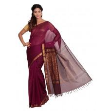 Platinum Traditional Handloom Cotton SareePSR13326