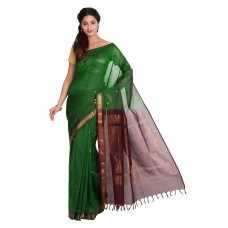 Platinum Traditional Handloom Cotton SareePSR13327