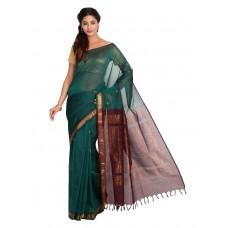 Platinum Traditional Handloom Cotton SareePSR13334