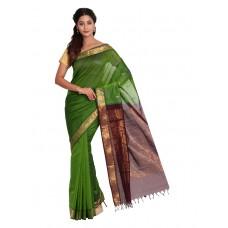 Platinum Traditional Handloom Cotton SareePSR13342