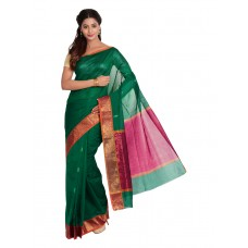 Platinum Traditional Handloom Cotton SareePSR13347