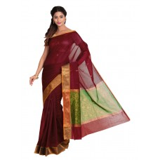 Platinum Traditional Handloom Cotton SareePSR13356