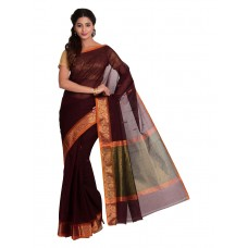 Platinum Traditional Handloom Cotton SareePSR13357