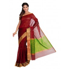 Platinum Traditional Handloom Cotton SareePSR13362