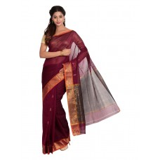 Platinum Traditional Handloom Cotton SareePSR13363