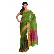 Platinum Traditional Handloom Cotton SareePSR13365