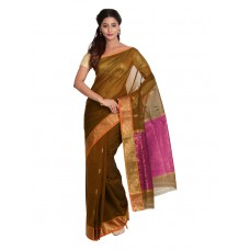 Platinum Traditional Handloom Cotton SareePSR13367