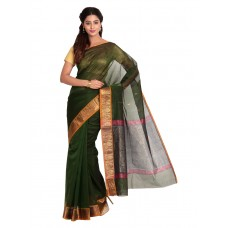 Platinum Traditional Handloom Cotton SareePSR13372