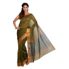 Platinum Traditional Handloom Cotton SareePSR13373