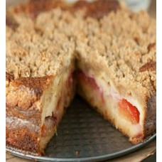 Creamy Filled Rich Plum Cake